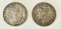 TWO KEY DATE U.S. MORGAN SILVER DOLARS IN HIGH GRADE: 1895-O & 1893, OTHER COINS