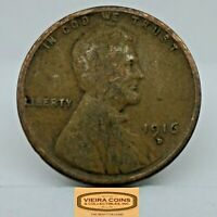 1916-D LINCOLN WHEAT CENT, BETTER DATE - C18564