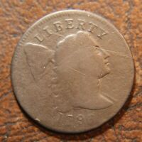1796 CAPPED LIBERTY LARGE CENT, S-84