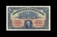 1941 COMMERCIAL BANK OF SCOTLAND 1 POUND
