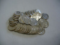 LOT OF 40 1964   CANADA  QUARTERS   SILVER  COINS  25  CENT  PIECES
