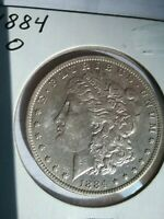 1884-0 MORGAN DOLLAR--