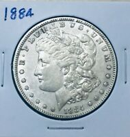 1884 MORGAN SILVER DOLLAR BETTER GRADE
