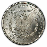 1879-S $1 MORGAN SILVER DOLLAR - LUSTER - BEAUTIFUL REVERSE - UNC - SKU-X727