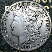 USA 1 DOLLAR MORGAN 1884 SILVER