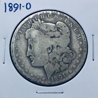 1891-0 MORGAN SILVER DOLLAR