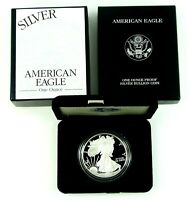 1999 P AMERICAN SILVER EAGLE PROOF ORIGINAL US MINT PACKAGING WITH COA