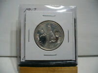 1967  CANADA  SILVER  HALF  DOLLAR  50 CENT PIECE   1 COUNTER STAMPED