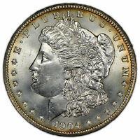 1904-O $1 MORGAN DOLLAR - LUSTER - HIGH-GRADE - BETTER DATE - UNC - SKU-D1433