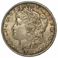 1904-O $1 MORGAN SILVER DOLLAR - ORIGINAL TONING - BETTER DATE - UNC - SKU-D1429