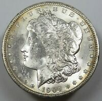 1904-O TONED SILVER MORGAN BU UNC DOLLAR $1 US COIN ITEM 25694