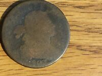 1803 DRAPED BUST LARGE CENT 1C AG G ABOUT GOOD