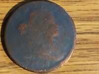 1798 LARGE CENT IN ABOUT GOOD  AG  CONDITION