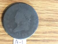 1813 CLASSIC HEAD LARGE CENT COIN