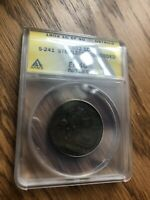 1802 DRAPED BUST LARGE CENT STEMLESS EXTRA FINE  40 ANACS. $1,625 PCGS RETAIL VALUE
