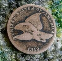 1858 FLYING EAGLE CENT SMALL LETTERS
