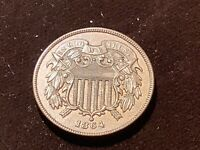 1864 2C TWO CENT PIECE 4