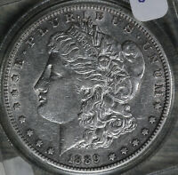 1889-S MORGAN DOLLAR   ALMOST UNCIRCULATED CONDITION COIN