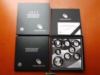 2017 S PROOF SILVER EAGLE LIMITED EDITION PROOF SET 17RC IN