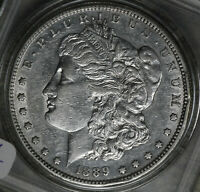 1889-S MORGAN DOLLAR   EXTRA FINE /AU CONDITION COIN
