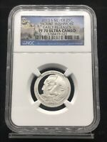 2013 S SILVER 25C MOUNT RUSHMORE EARLY RELEASES PF 70 ULTRA