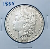 1885 MORGAN SILVER DOLLAR FLAWLESS A PERFECT COIN  MINT FROSTING
