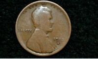 1912-S LINCOLN CENT  GOOD   BROWN