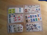 STAMPS FOR POSTAGE OR FILLERS UNUSED  SOME WITH FAULTS  FACE