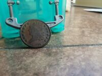 1835 1/2 CENT COPPER XF CONDITION A BEAUTIFUL COIN    THIS I