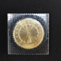 JAPAN GOLD COIN THE 60TH OF THE EMPEROR ON THE THRONE IN 198