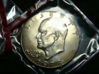 1978 D EISENHOWER IKE $1 DOLLAR BU UNCIRCULATED IN OGP MINT CELLO LAST YEAR
