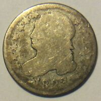 1823 CAPPED BUST DIME M-96