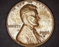 1956 D 1C RPM ? / MAJOR LAMINATION / ROTATED  LINCOLN WHEAT