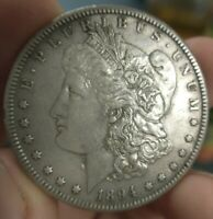 1894 S MORGAN SILVER DOLLAR $1 KEY DATE AU ABOUT UNCIRCULATED MAKE AN OFFER