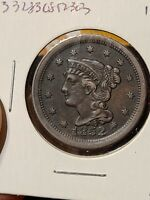 1852 LARGE CENT NICE COIN