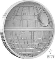 2020 STAR WARS: DEATH STAR   1 OZ. SILVER COIN  PRESENT / GIFT / CHRISTMAS