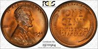 1944-D LINCOLN CENT PCGS MINT STATE 67RD CAC GOLD SHIELD LUSTROUS WITH SILVER TONING 14