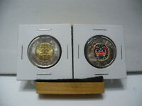 2020  CANADA  2$ TWO  DOLLAR  COIN  TOONIE  20  BILL REID  COLOR AND PLAIN  UNC.