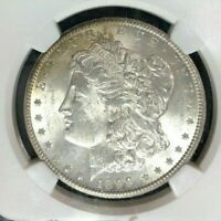1899-O MORGAN SILVER DOLLAR  NGC MINT STATE 63 BEAUTIFUL COIN REF34-015