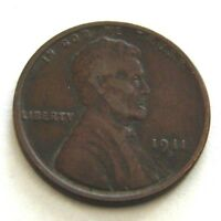 1911 - D  LINCOLN CENT PENNY  COIN