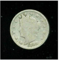 1892 P V NICKEL LIBERTY U.S 5 CENT US  OLD AMERICA VNICKEL 1  COIN 3105