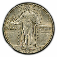 1930 25C STANDING LIBERTY QUARTER - STRONG ORIGINAL LUSTER - SKU-Z1028