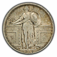 1917 TY-1 25C STANDING LIBERTY QUARTER - TYPE-1 - SKU-Z1013
