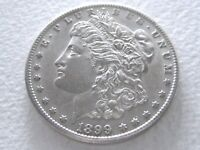 1899-S MORGAN DOLLAR, EXTREME DETAIL  IN THIS CONDITION 9-R