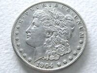 1904-S MORGAN DOLLAR, EXTREME DETAILS  IN THIS CONDITION 9-D