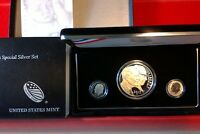 2015 MARCH OF DIMES SPECIAL SILVER PROOF 3 COIN SET
