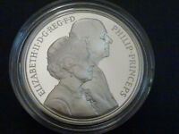 1997 SILVER PROOF 5 FIVE POUND GOLDEN WEDDING BOXED & C.O.A.