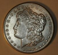 1897-S MORGAN SILVER DOLLAR. BLK9