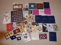 HUGE COIN PROOF SET  5 POUNDS COLLECTABLE BULK JOB LOT COLLE