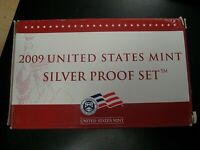 2009 S UNITED STATES MINT 18 COIN SILVER PROOF SET IN ORIGIN